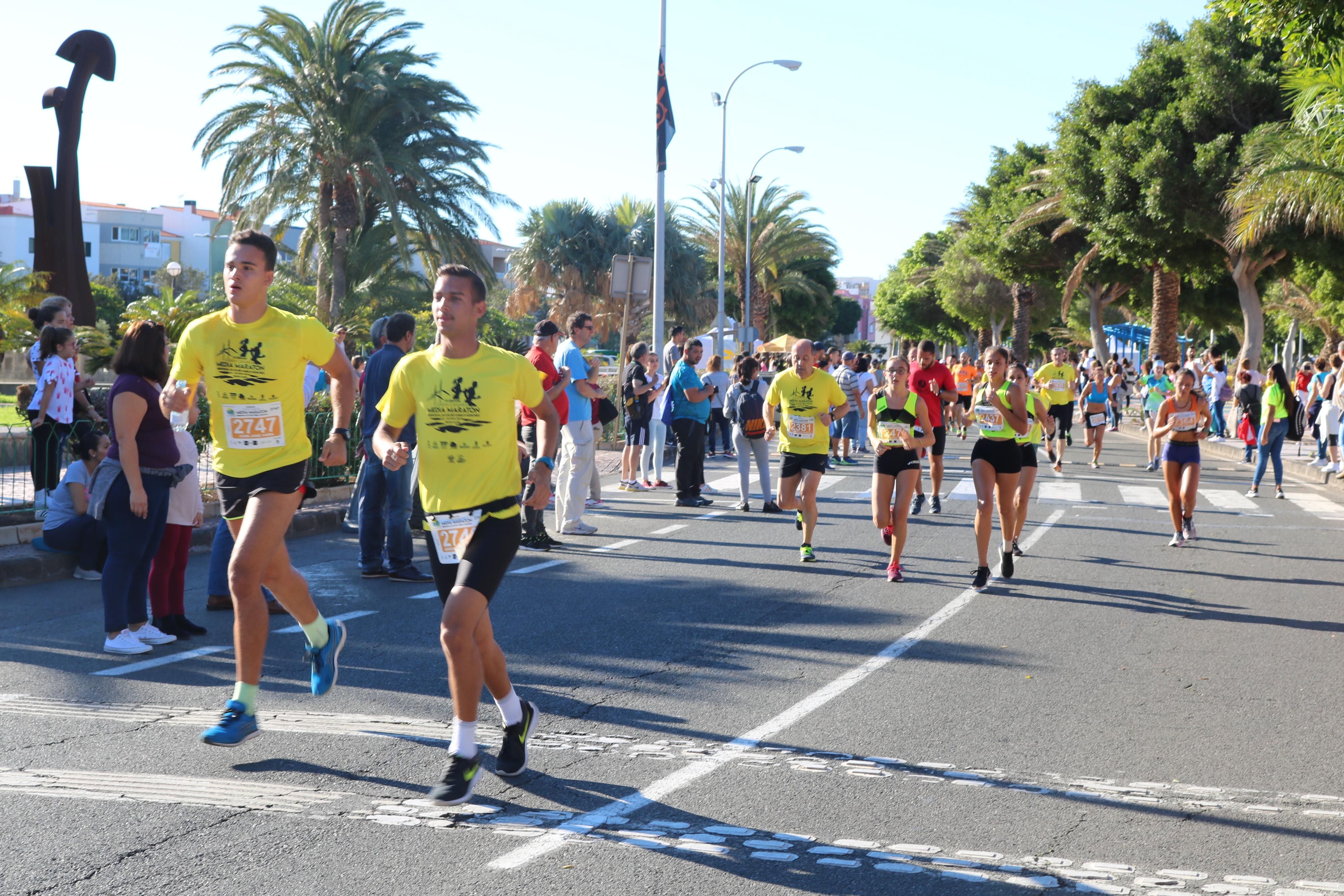 Abiertas las inscripciones para la XIII Gran Canaria Media Maratón Alcalde Camilo Sánchez